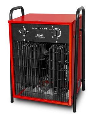 Warmeluchtblazer elektrisch 22kw 3x400V