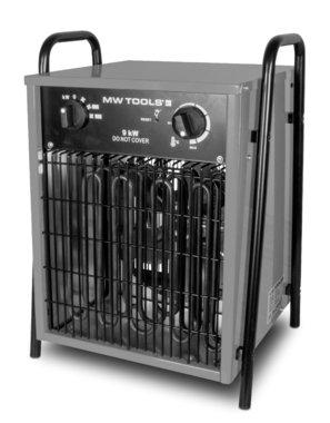 Warmeluchtblazer elektrisch 9kw 3x400V