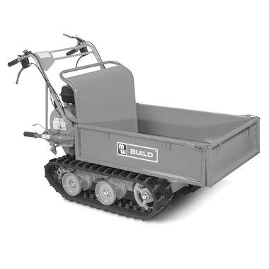 Mini platformwagen op rupsen
