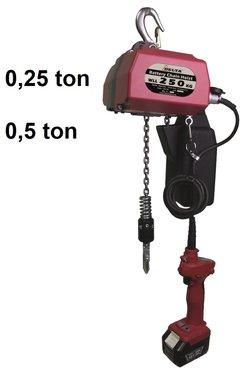 Batterij ketting takels