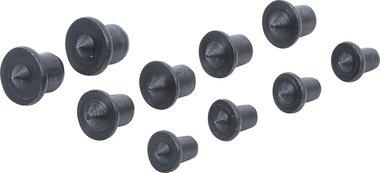 Deuvelzetter-set 6 - 8 - 10 mm 10-dlg