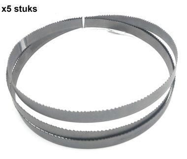 Lintzaagbladen matrix bimetaal-13x0,65-1440mm, vertanding 6-10
