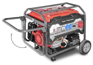 Benzine generator 6,5kw 3x400v elektrische start