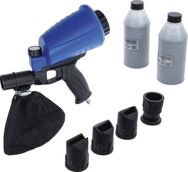 Lucht zandstraalpistool incl. toebehoren 3-dlg.