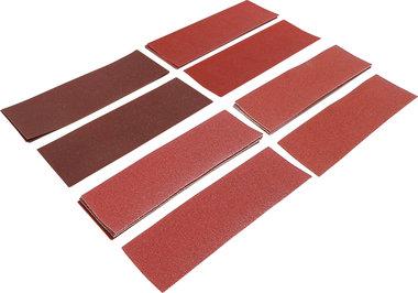 Schuurbladen-set trilschuurmachine / schuurblok 93 x 230 mm K 60 - 180 25-dlg.