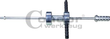 Schuifhamer, 8,5 kg gewicht, M18x1,5, 930 mm
