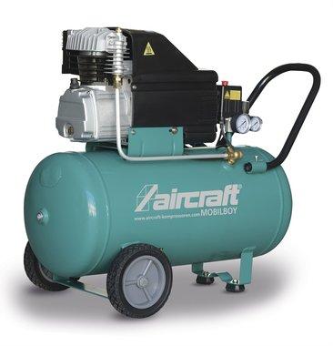 Mobiele compressor 10 bar 50l 141l/min