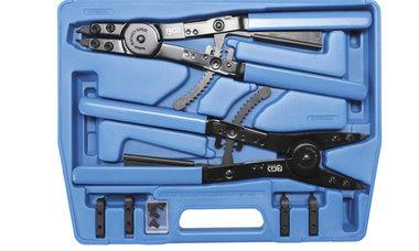 Bgs Technic Borgveertang Set voor bedrijfsvoertuigen verwisselbare punten 400 mm