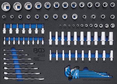 Dopsleutel/steekringsleutel inch 90-dlg
