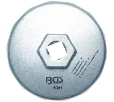 Oliefiltersleutel 14-kant diameter 74 mm