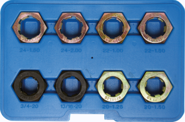 Bgs Technic Draad reparatieset voor aandrijfassen 8 delig