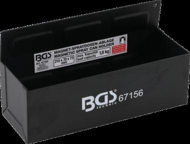 Bgs Technic Gereedschapkar opslagbak, magnetisch 210 mm