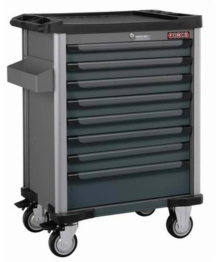 8-drawer trolley with 376pc tools