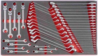 Foam Sleutel combinatieset 48 delig