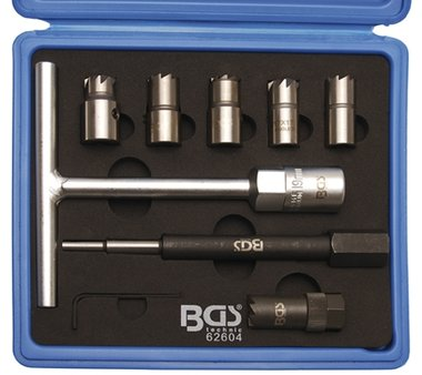 Bgs Technic Injector-zittingfreesset 9-dlg