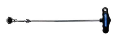 Bgs Technic Ratel kniesleutel met T-greep, verstelbaar 6,3 (1/4)