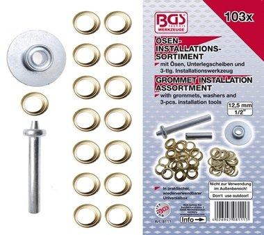 Bgs Technic 103-delige Pakkingring inbouwpakket