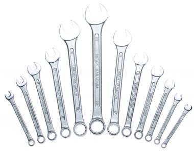 Bgs Technic 12-delige Combinatie sleutelset volgens DIN 3113 6-22 mm