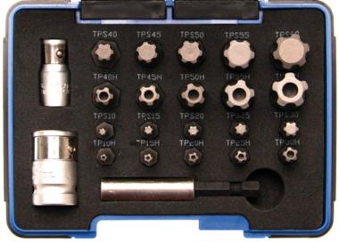 Bgs Technic Bit Set | TS-profiel PLUS (voor Torx Plus) | 23 stks