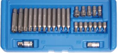Bgs Technic Bit Set   10 mm (3/8) drive   Torx tamperproof (voor Torx)   26 delig