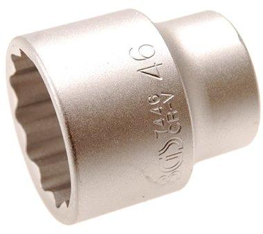 3/4 Dop 12-kant 46 mm