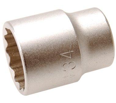 3/4 Dop 12-kant 34 mm