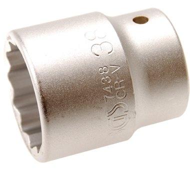 3/4 Dop 12-kant 38 mm