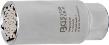 Bgs Technic Multi dop| Aandrijving 10 mm (3/8) | 9 - 21 mm