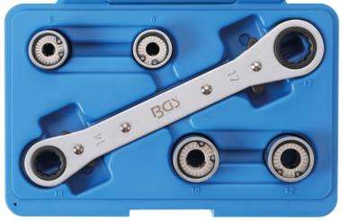 Bgs Technic Tapeind uitdraaierset 6 - 12 mm 5-delig