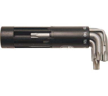 Bgs Technic 8 - stuk Torx Sleutel met gat Korte Type T10 - 50