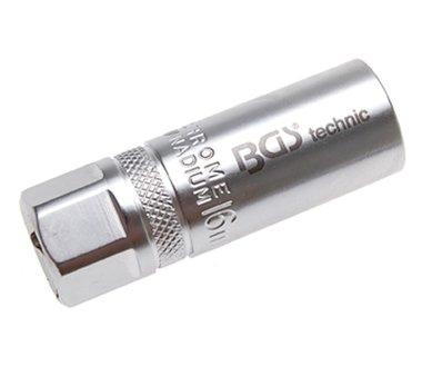 Bgs Technic Bougie-dopsleutel, 1/2 16 mm met veer