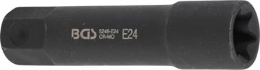 Bgs Technic Inwendig torx Houder 100 mm lang E24 22 mm zesk