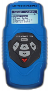 Bgs Technic Elektronische remterugstel- en diagnoseset EPB / SBC