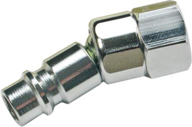 Bgs Technic Draadnippel 6,3 mm (1/4) binnendraad