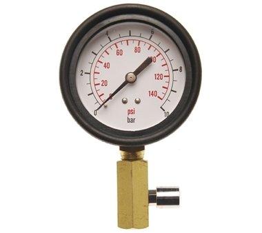 Bgs Technic Meter met Klep voor oliedruk test