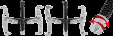 Externe / interne 2-arm trekker Max. 100 mm