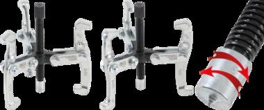 Uitwendig / inwendig trekker 3 armen max. 100 mm