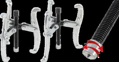 3-arms externe / interne puller max. 150 mm