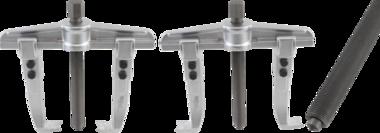 Parallelle trekker, fijne draad, 2 poten 140 - 340 mm