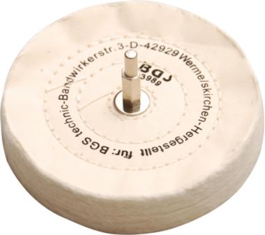 Bgs Technic Polijstschijf met doorn 6 mm