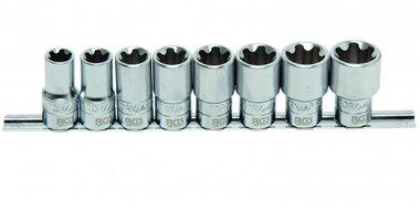 Bgs Technic 8-piece dopsleutelset Torx Plus, 10-20 EP 1/2