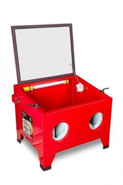 Zandstraalcabine 80 liter tafel