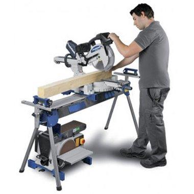 Samenklapbare werktafel / rollenbaan - 2400 mm