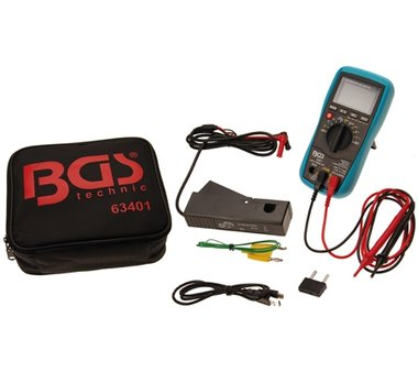 Bgs Technic Automotive digitale multimeter met USB-interface