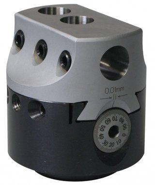 Universele kotterkop zonder automatische voeding KKC2, 50mm