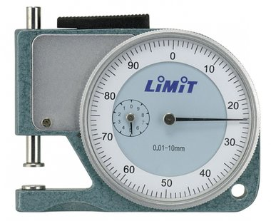 Analoge diktemeter 10 mm zakmodel