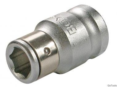 Bgs Technic 3/8 adapter met behouden van ball, f. 8 mm bits