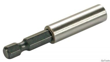 Bgs Technic Bithouder, magnetisch 1/4, 60 mm