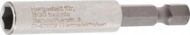 Bgs Technic Magnetische bithouder, extra sterk 6,3 mm (1/4) zeskant 60 mm