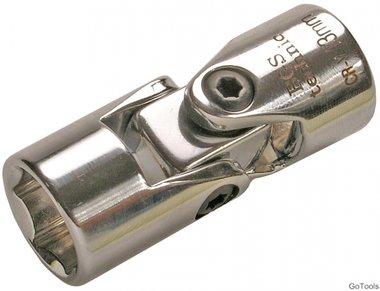 Bgs Technic 3/8 universal Kniestuk dop, 13 mm